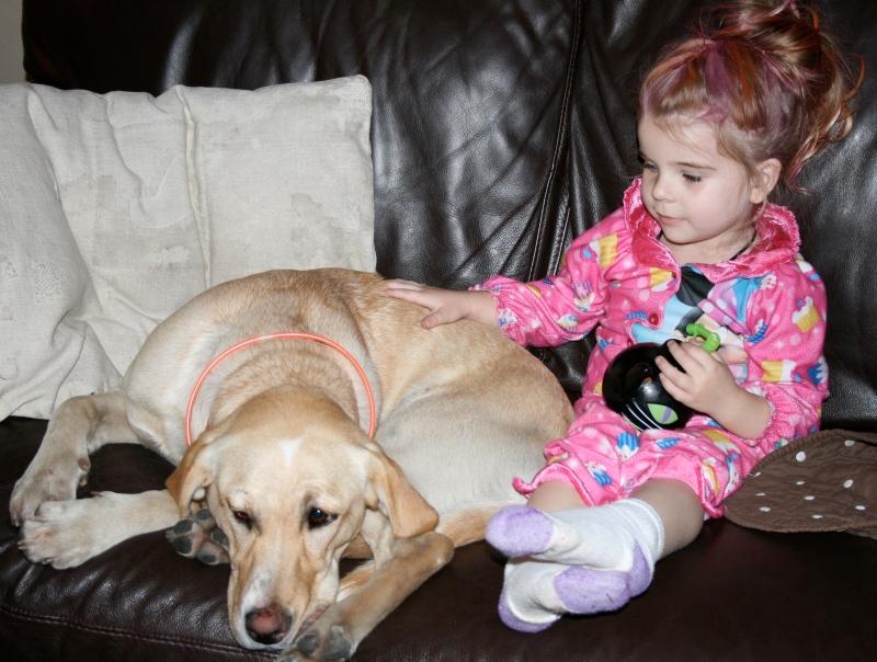Rosie's new friend