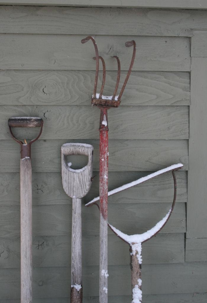 A Gardener's Tools